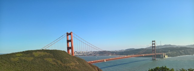 Golden Gate Bridge von Norden