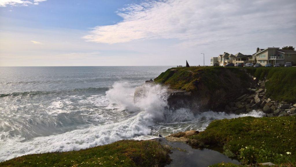 Pazifik in Santa Cruz